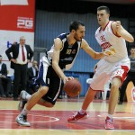 Boras with Vitali in Fiba Eurocup group E